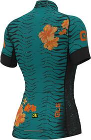 Prr Cycling Noirturquoise Graphics Femme Courtes Savana Maillot Manches Alé uZPkOXi